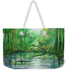 Lost In Colors  Weekender Tote Bag by Ivana Westin