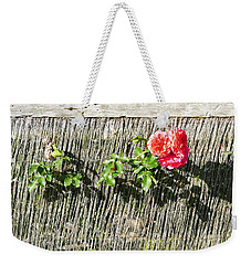 Floral Escape Weekender Tote Bag by Ivana Westin
