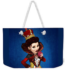 Queen Of Hearts Portrait Weekender Tote Bag