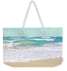Weekender Tote Bag featuring the photograph The Ocean by Sharon Mau