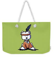 Westie Pocahontas Weekender Tote Bag