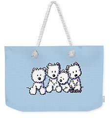 Kiniart Pocket Pawsse Weekender Tote Bag
