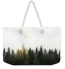 Weekender Tote Bag featuring the photograph Forest by Nicklas Gustafsson