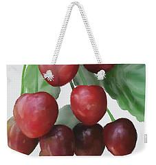 Sour Cherry Weekender Tote Bag