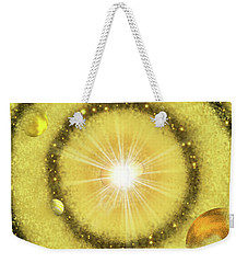 My Golden Universe Weekender Tote Bag by Methune Hively