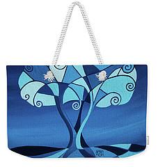 Enveloped In Blue Weekender Tote Bag