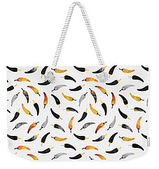 Chili Peppers Weekender Tote Bag by Elisabeth Fredriksson