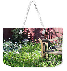 Weekender Tote Bag featuring the photograph Wild Garden by Felipe Adan Lerma