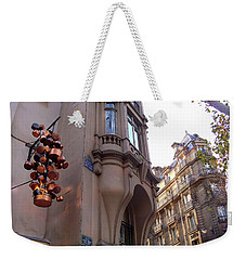 Angles And Details At Place Saint Andre Des Arts Weekender Tote Bag