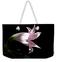 Lovely Lilies Bird In Flight Weekender Tote Bag by Felipe Adan Lerma