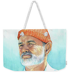 Bill Murray Steve Zissou Life Aquatic Weekender Tote Bag