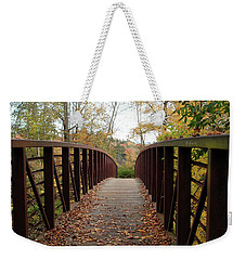 Thompson Park Bridge Stowe Vermont Weekender Tote Bag