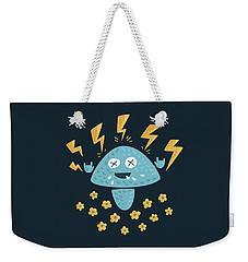 Heavy Metal Mushroom Weekender Tote Bag
