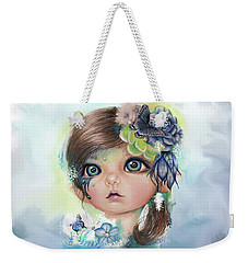Indigo - Butterfly Keeper - Munchkinz By Sheena Pike  Weekender Tote Bag