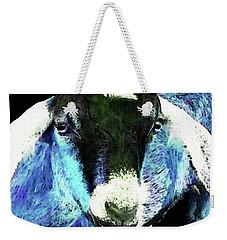 Goat Pop Art - Blue - Sharon Cummings Weekender Tote Bag