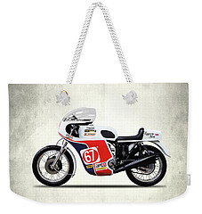 Slippery Sam Production Racer Weekender Tote Bag by Mark Rogan