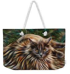 Siberian Attitude Weekender Tote Bag