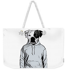 Weekender Tote Bag featuring the painting Cool Dog by Nicklas Gustafsson