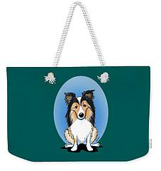 Kiniart Sheltie Weekender Tote Bag