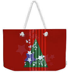 Stars And Stripes - Christmas Edition Weekender Tote Bag