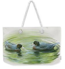 Blue Ducks  Weekender Tote Bag