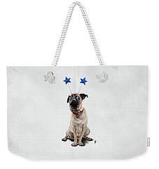 A Pug's Life Wordless Weekender Tote Bag