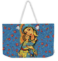 Mother Temple Weekender Tote Bag by Eva Campbell