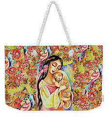 Little Angel Dreaming Weekender Tote Bag