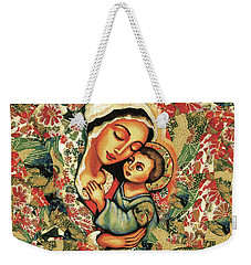The Blessed Mother Weekender Tote Bag