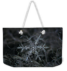 Snowflake 2 Of 19 March 2013 Weekender Tote Bag by Alexey Kljatov