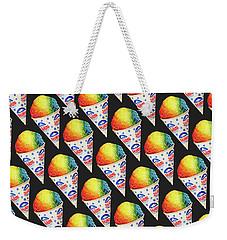 Snow Cone Pattern Weekender Tote Bag