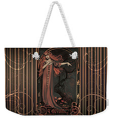 Autumn Art Nouveau  Weekender Tote Bag by Shanina Conway