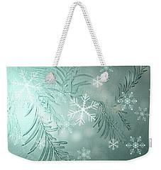Magical Snow Weekender Tote Bag by AugenWerk Susann Serfezi