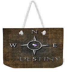 Destiny Weekender Tote Bag by Linda Prewer