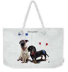What's The Deely? Weekender Tote Bag