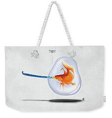 Popper Weekender Tote Bag