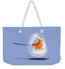 Popper Colour Weekender Tote Bag