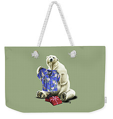 Weekender Tote Bag featuring the drawing Cool Colour by Rob Snow