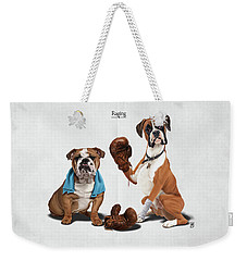Weekender Tote Bag featuring the drawing Raging by Rob Snow