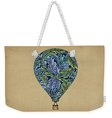 Weekender Tote Bag featuring the painting Flight Pattern by Meg Shearer