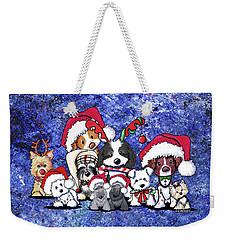 Kiniart Christmas Party Weekender Tote Bag
