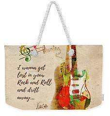 Drift Away Weekender Tote Bag by Nikki Marie Smith