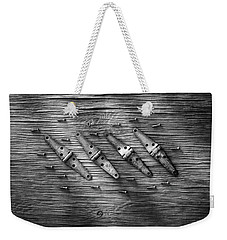 Strap Hinges And Screw Again Weekender Tote Bag