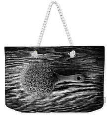 Scrub Brush Up Bw Weekender Tote Bag
