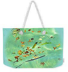 Ocean Flowers Weekender Tote Bag by Linda Hollis
