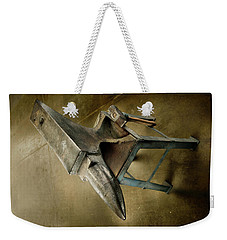Weekender Tote Bag featuring the photograph Anvil And Hammer by YoPedro