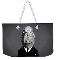 Celebrity Sunday - Alfred Hitchcock Weekender Tote Bag