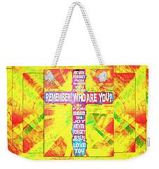 The Cross Of Victory Weekender Tote Bag