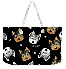 Cosmo And Chewie Portrait Weekender Tote Bag