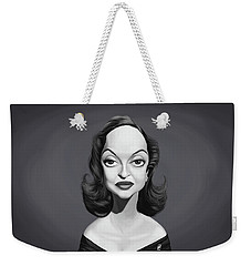 Celebrity Sunday - Bette Davis Weekender Tote Bag